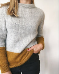 Contrast Sweater - Wholesale