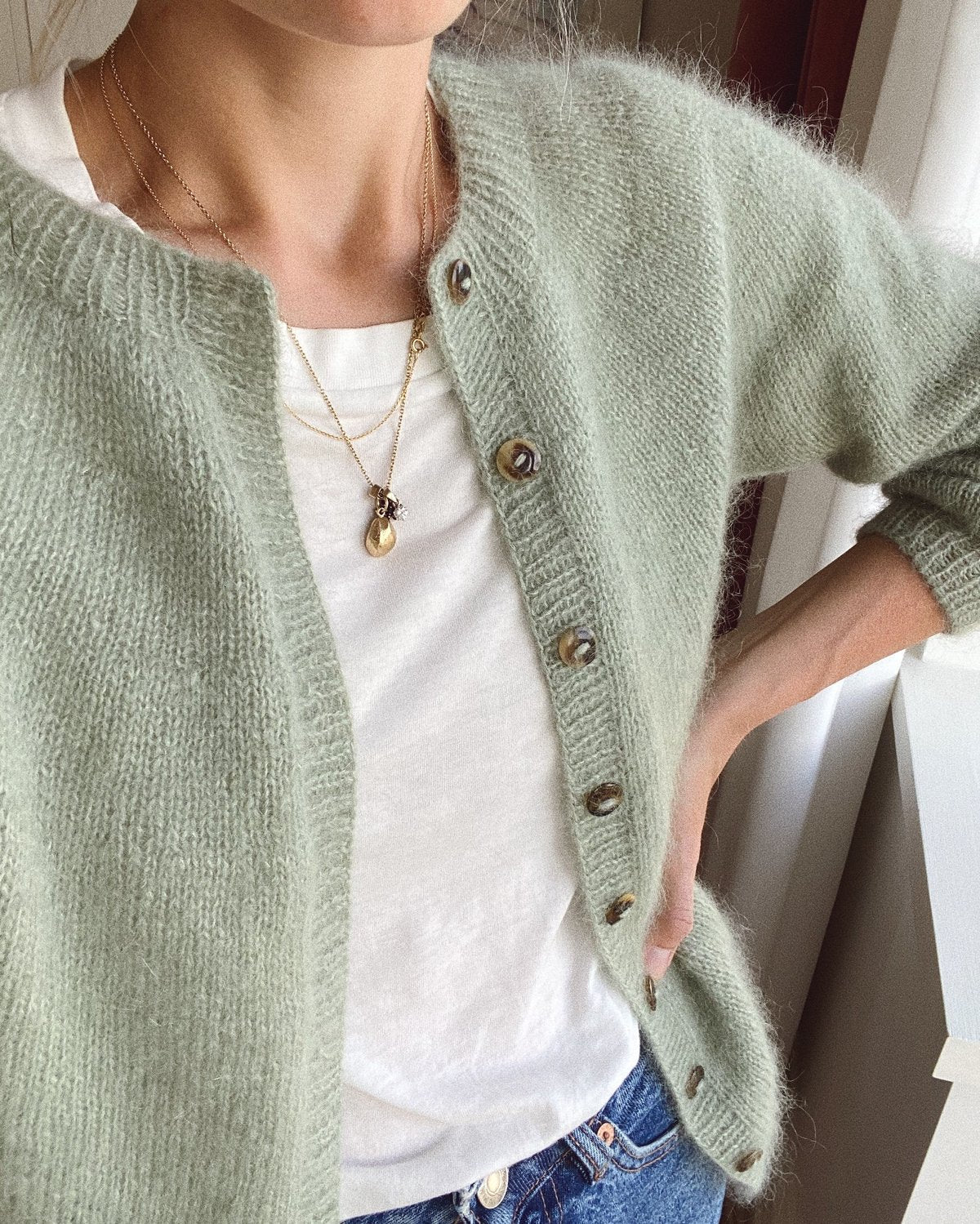 Novice Cardigan - Mohair Edition