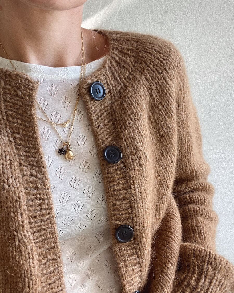 Sorte knapper til Novice Cardigan - Chunky Edition