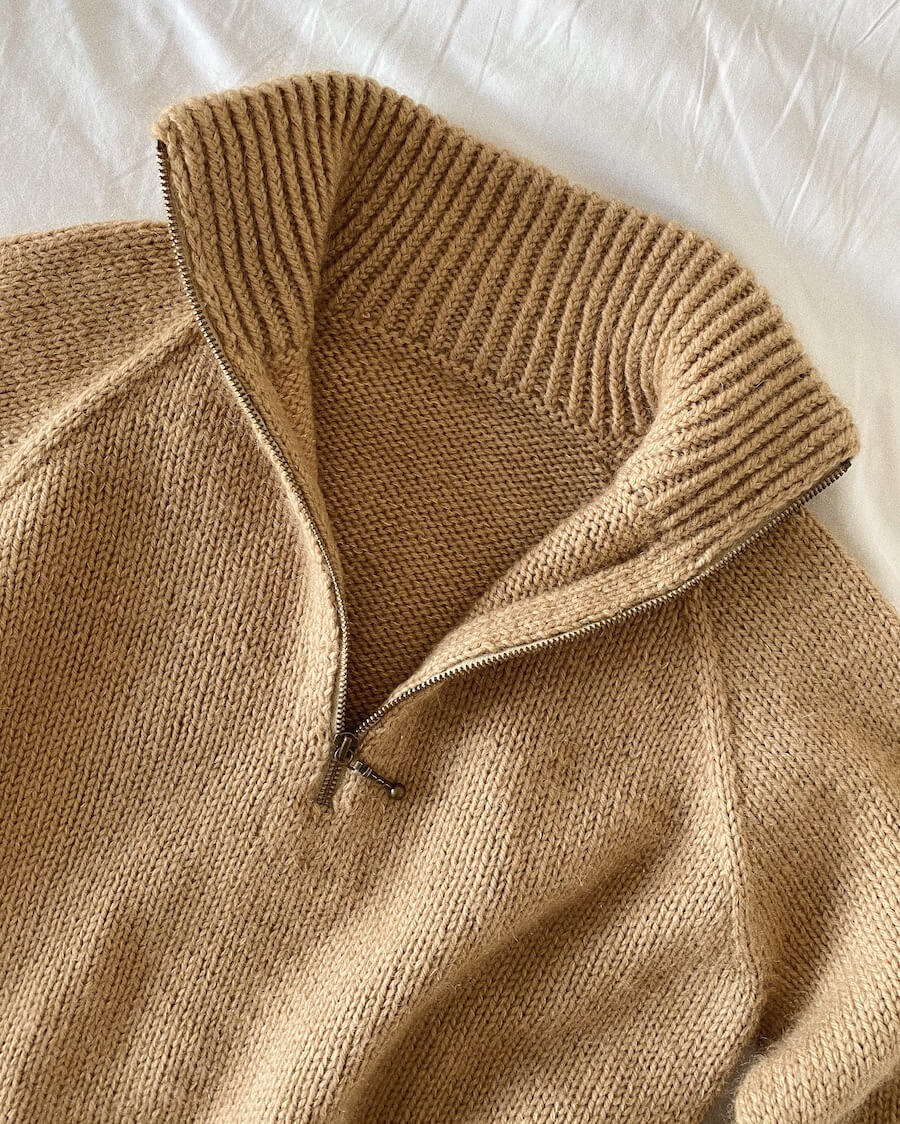 Zipper Sweater