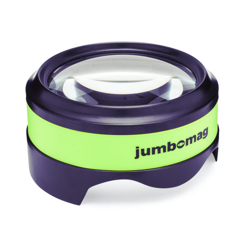 Jumbomag LED Desktop Magnifying Glass - Green