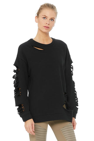 Alo Yoga: Fade Long Sleeve Pullover