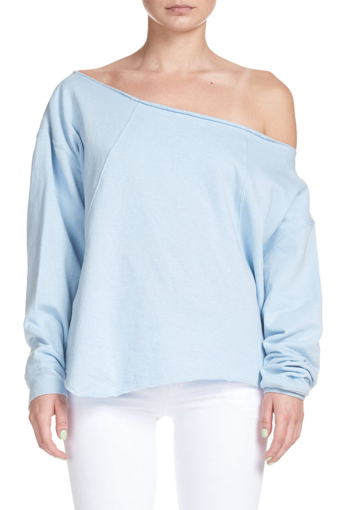 Elan: Top with Boat Neck