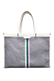 Fallon and Royce: East/West Large Mesh Tote