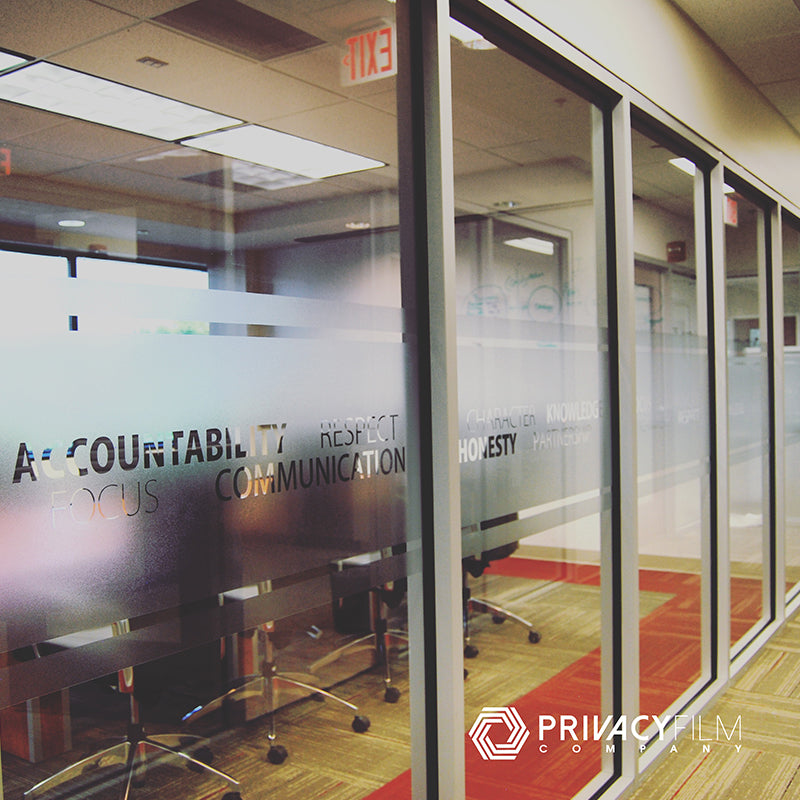 VISIUM® Frosted Conference Room Window Film
