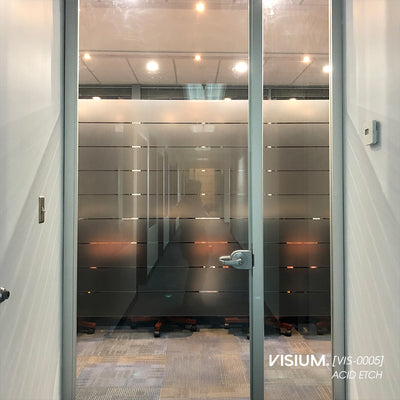 Acid Etch Window Film | VISIUM® Glass Films