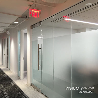 Textured Glass Films for Privacy | VISIUM® Window Films