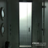 Privacy Glass Film For Showers | VISIUM® Clear Sandblast