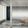 Fine Line Gradient Privacy Glass Film | VISIUM® Privacy Window and Glass Film