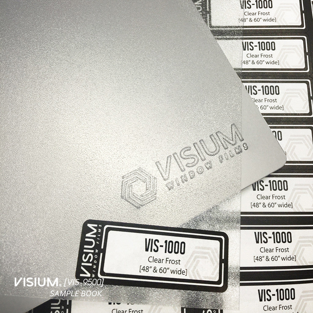 VISIUM® Window Films | VISIUM® Sample Book [VIS-9500]