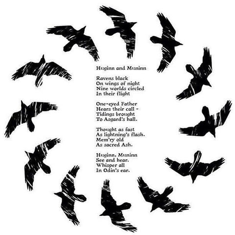 Huginn and Muninn Norse Blood