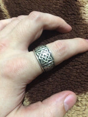 viking norse blood russian slavic svarog ring star