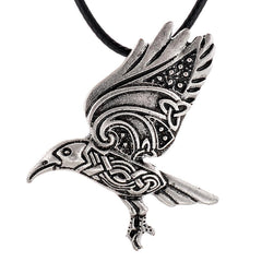 Ancient Raven Pendant