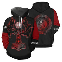 Odin's Ravens Hoodie - Norse Blood