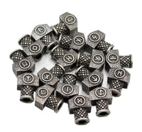 Runic Mjolnir Rune Charms - 23 Pack - Norse Blood