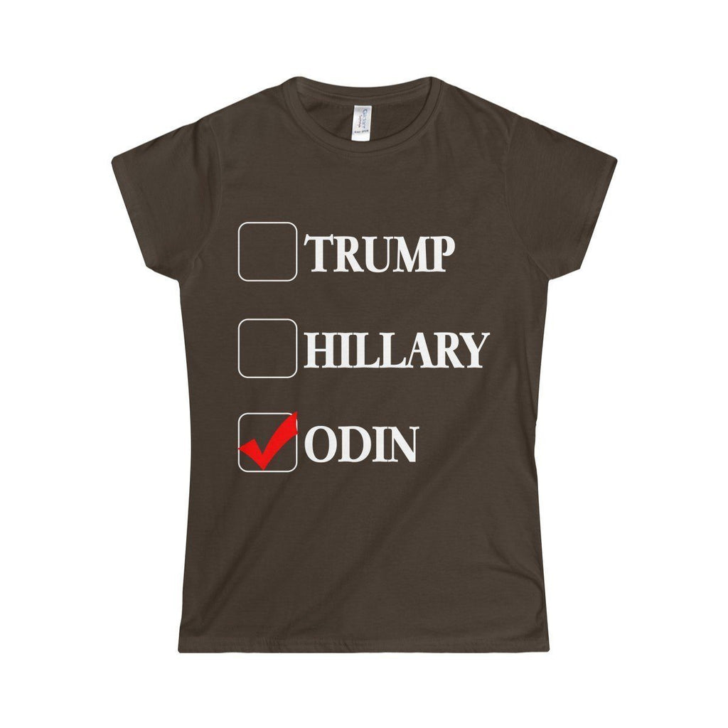 Vote Odin T-Shirt (Women's) - Norse Blood