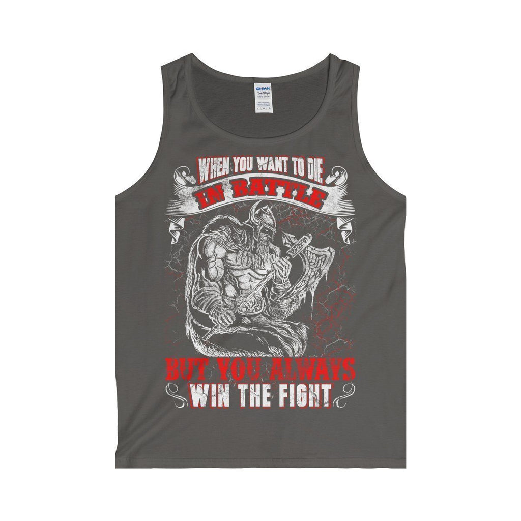 Always Win The Fight Tank Top (Men's) - Norse Blood