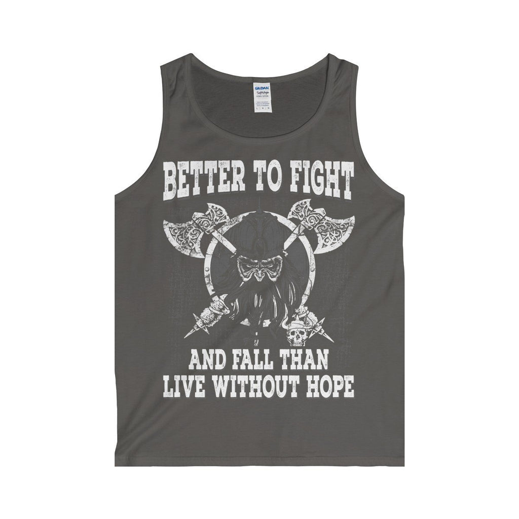 Better To Fight Tank Top (Men's) - Norse Blood