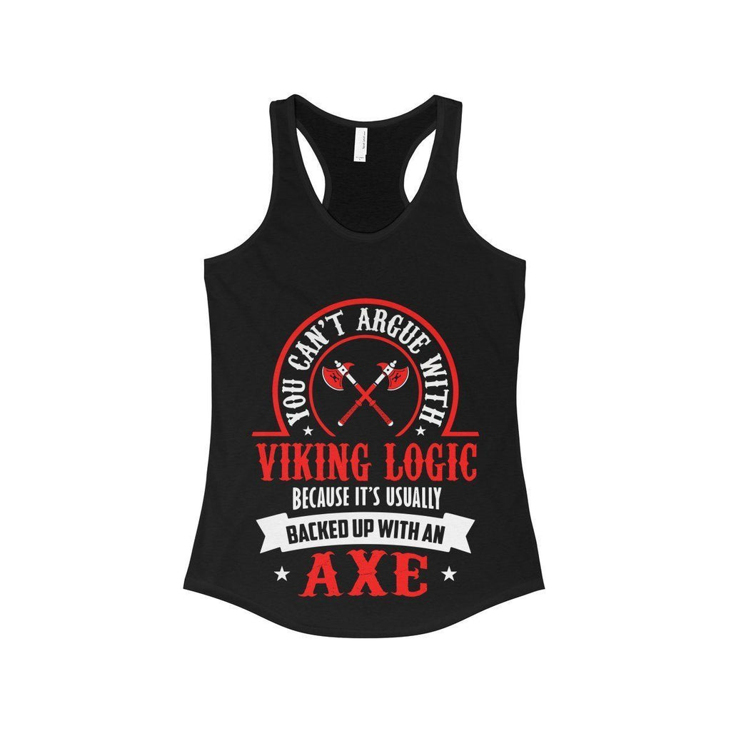 Viking Logic Tank Top (Women's) - Norse Blood