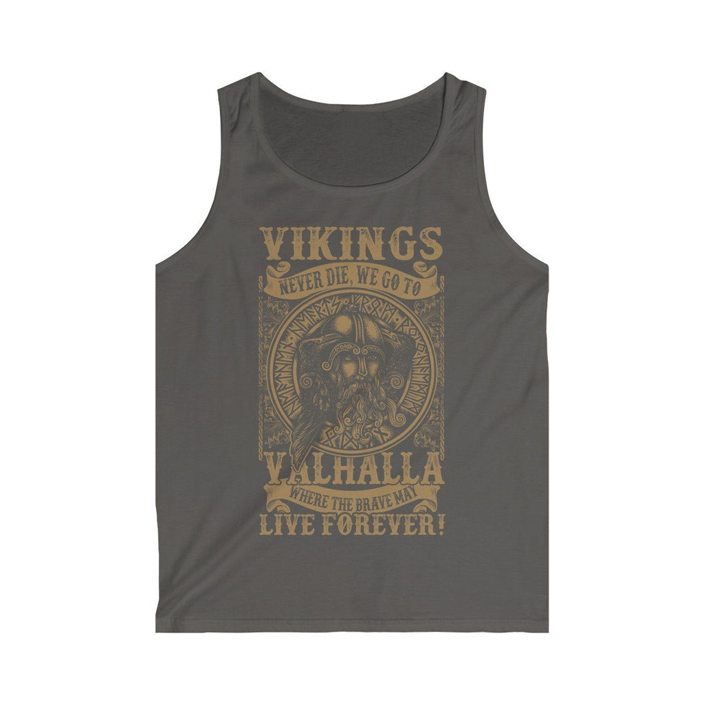 Vikings Live Forever Tank Top (Men's) - Norse Blood