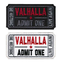 Valhalla Admit One Patch - Norse Blood