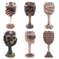 Viking 3D Skull Chalices 200ml - Norse Blood