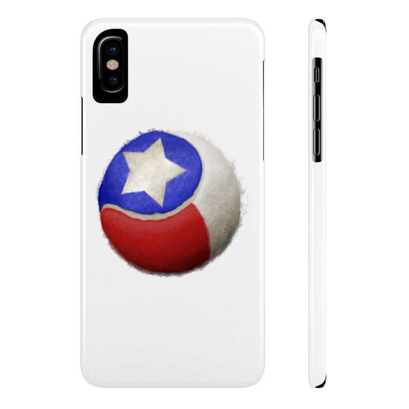 Texas Tennis-Case Mate Slim Phone Cases