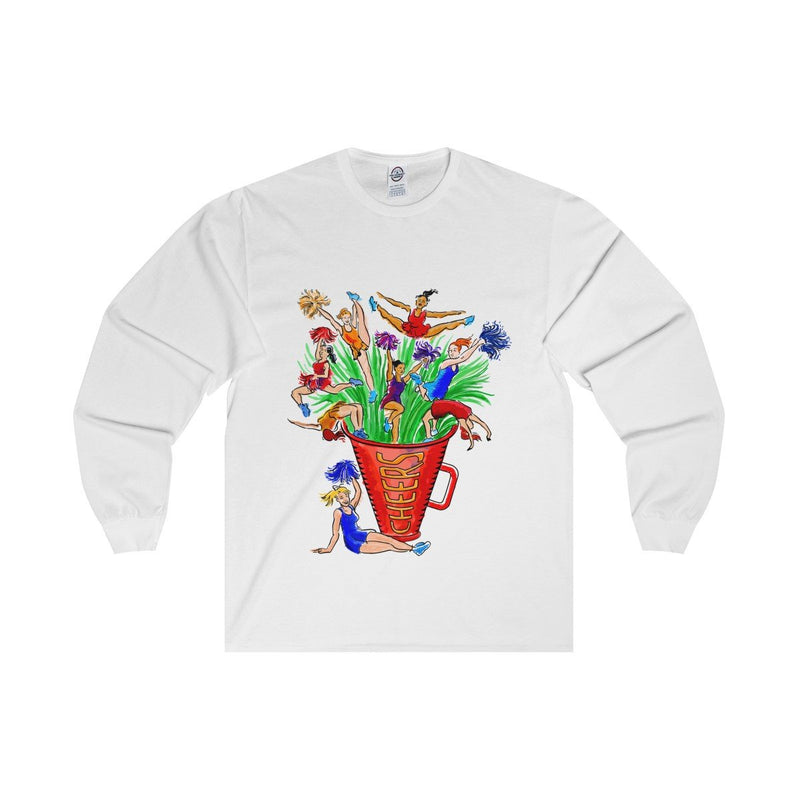 Cheerleading Bouquet- Long Sleeve Tee