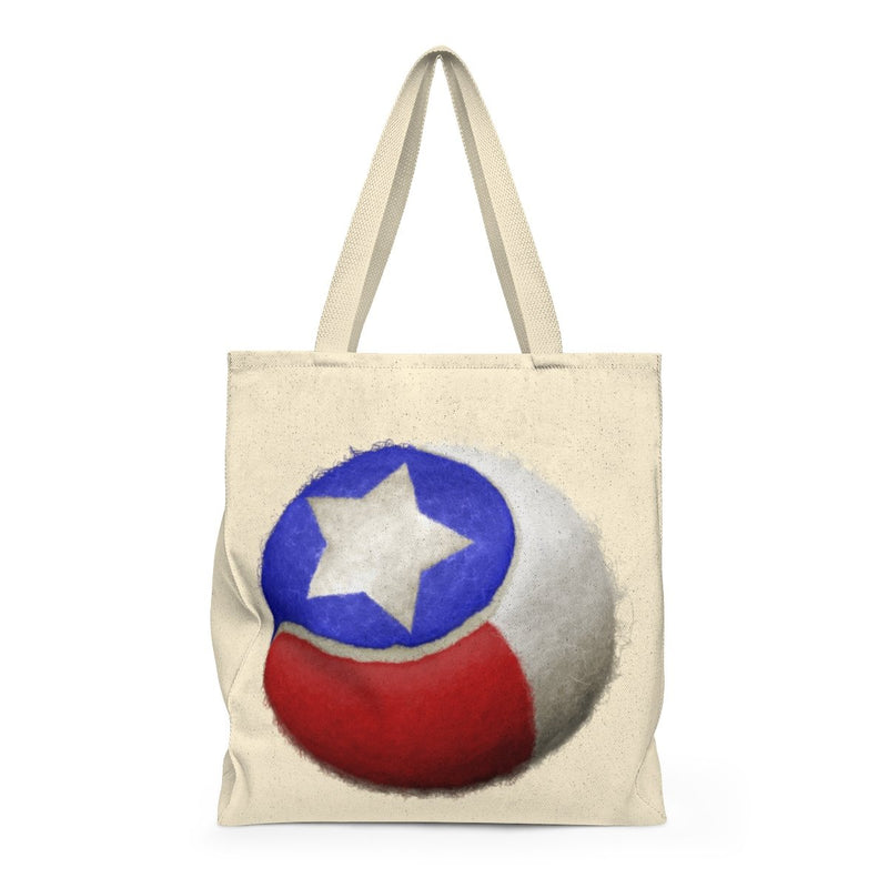 Texas Tennis-Shoulder Tote Bag - Roomy