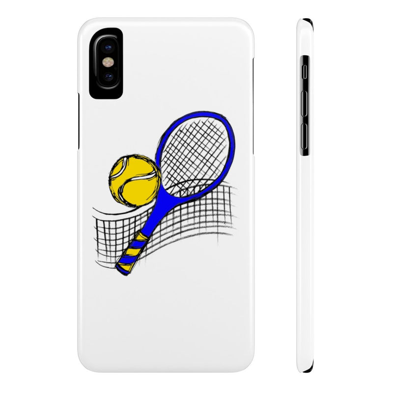Sketched Tennis-Case Mate Slim Phone Cases