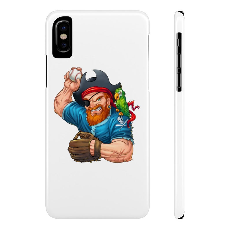 Pirate Baseball Player- Slim Cases