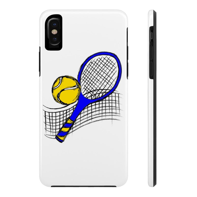 Sketched Tennis-Case Mate Tough Phone Cases