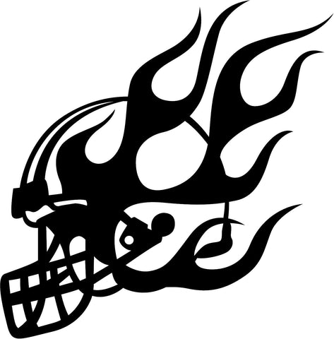 Custom-made Football Window Decal - Powersports Players