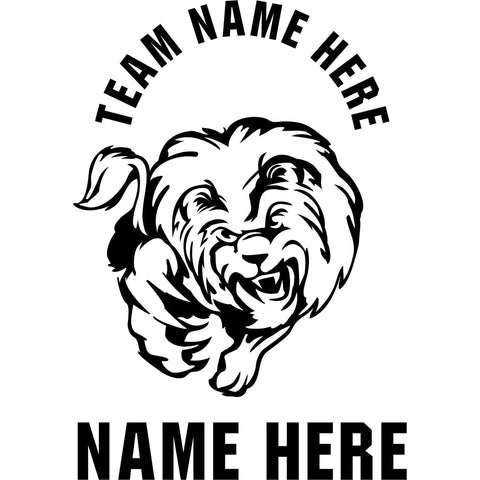 Custom-made Animals Mascot Window Decals