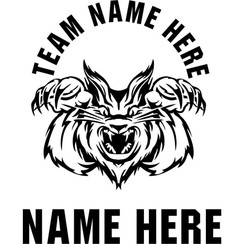 Custom-made Animals Mascot Window Decals - Powersports Players