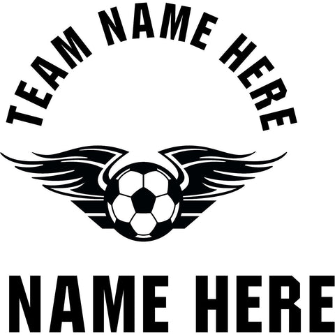 Custom-made Soccer Window Decal - Powersports Players