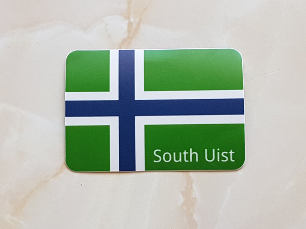 Uist Flag car stickers