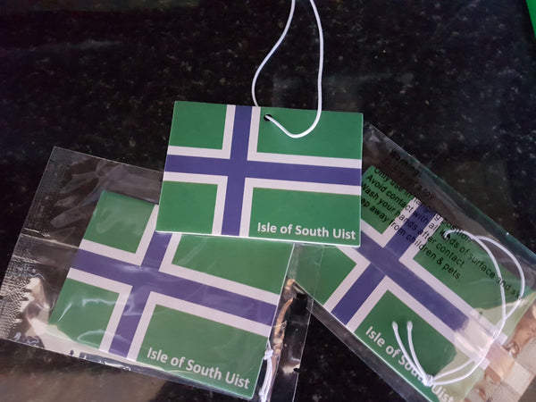 South Uist Flag Car Air Freshener