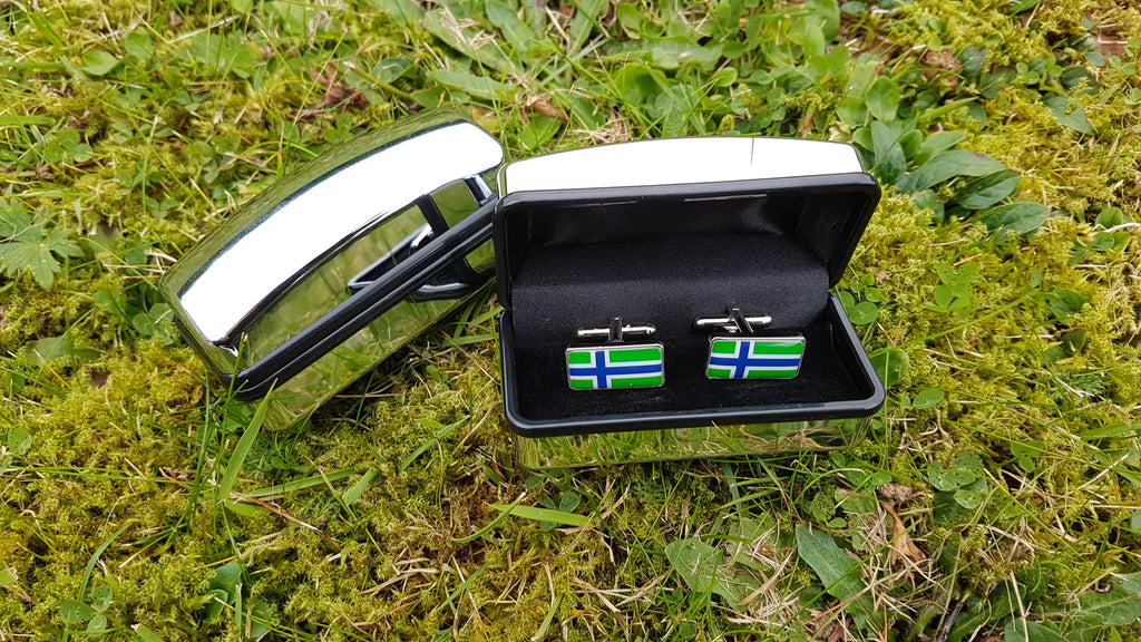 South Uist Flag Cufflinks