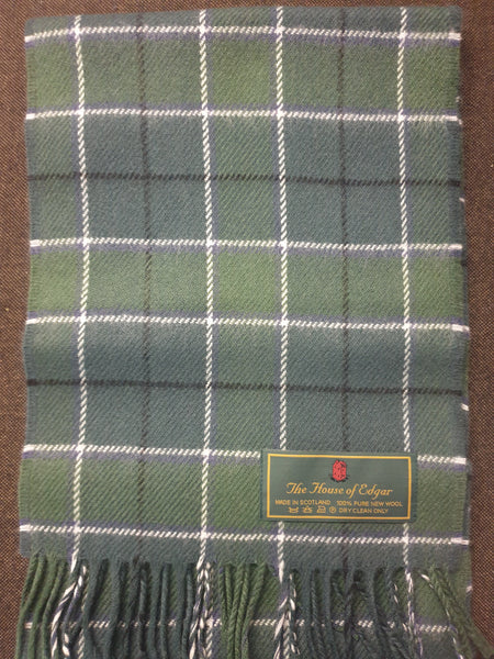 Official tartan of Isle of South Uist scarf