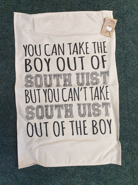 Tea Towel South Uist Boy