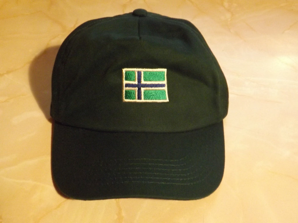 South Uist Baseball Cap in Bottle Green