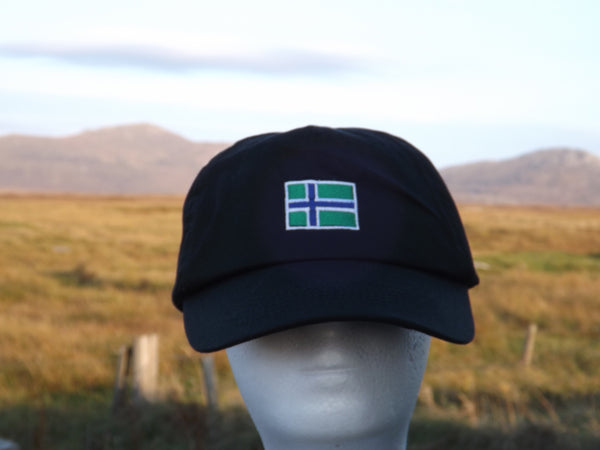 South Uist Baseball Cap in Black
