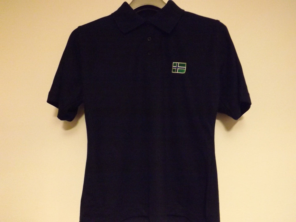 South Uist Ladies (M) Dark Navy Polo Shirt