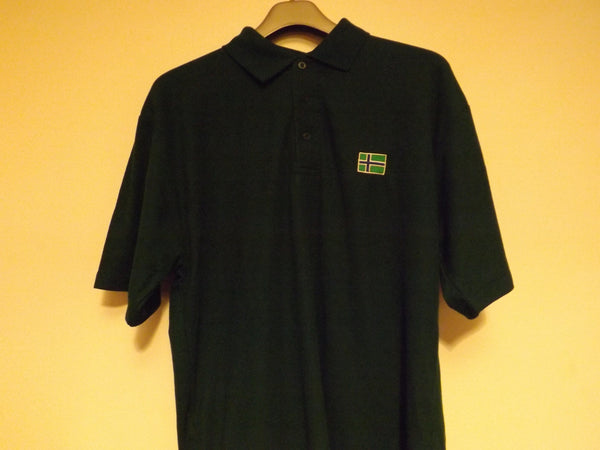 South Uist Mens Polo Shirt (XL) Bottle Green