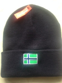 South Uist Beanies in Bottle Green, Black, Navy & Fuchsia