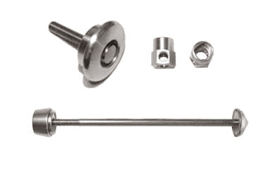 SET04GA Pitlock Front Wheel & Ahead Lock