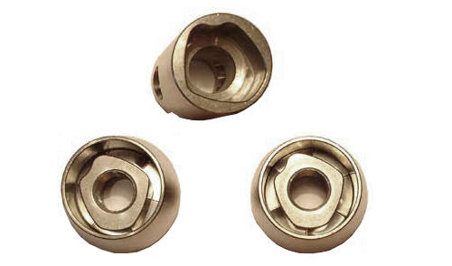 Pitlock Dual M10 Solid Axle Nuts Set