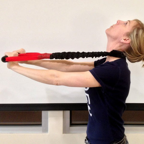 Pro-Lordotic Neck Exerciser - Stroops RED - Easy Pull