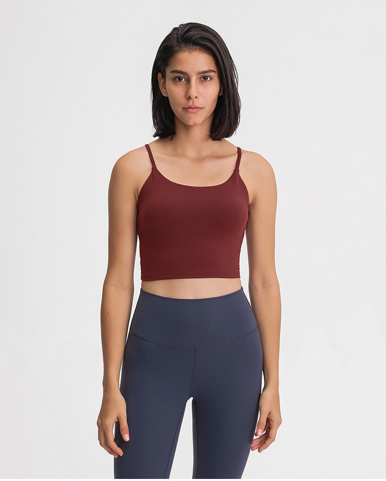 Daily Crop Sports Bra (with removable padding)